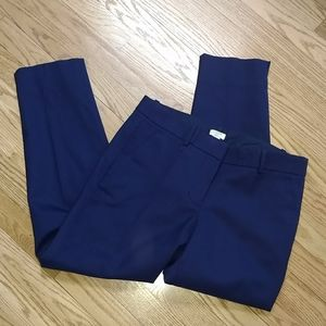 J Crew wool blend lined ankle pants skimmer 4